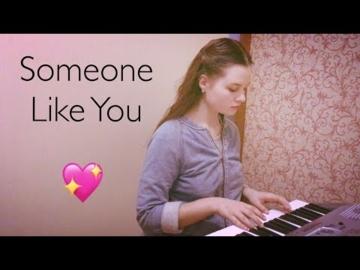"Adele- ""Someone like you"""